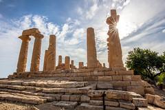 (Joseph Burns 32) Tags: greektemple temple ruins agrigento italy sicily ancientgreek greek juno hera