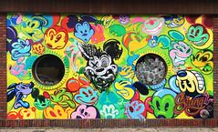 The Mouse by Slangism (wiredforlego) Tags: graffiti mural streetart urbanart aerosolart logansquare chicago illinois ord mickeymouse disney