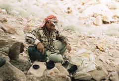 Tea time (louis de champs) Tags: minoltasrt101 film cinestill 50d portrait bedouin tea desert dana biosphere reserve jordan sheperd