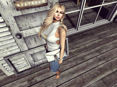 A Day At The Boat House (Sparkle Mocha) Tags: truth cheri hilly haalan hh tres chic venue nanika elena tattoo kr kenny rolands lennie jeans short top earring mandalalegacykilimanjaro mandala glamistry sunglasses mainstore illi merilyn pearl sandals marketplace
