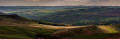 View from Stanage (Peter Quinn1) Tags: peakdistrict darkpeak stanageedge lowsun evening spring derbyshire derwentvalley hathersage fields
