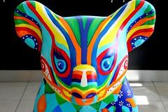 Wildlife Warrior (Gillian Everett) Tags: koala statue portmacquarie nsw