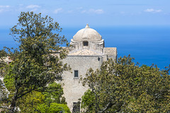 view to blue (the-father) Tags: cupola church mediterranian sea erice sicily italy bluesky sunny