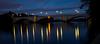 Chiswick Bridge: Between Day and Night