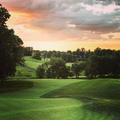 Sunset at Hartefeld Country Club! Pennsylvania (saadia_khans) Tags: sunset landscapephotography golfclub countyclub photography landscape instagramapp square squareformat iphoneography mayfair