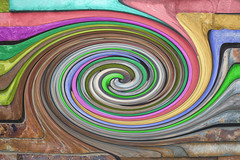 whirling (robwiddowson) Tags: digital art whirl sphere pattern colour robertwiddowson