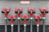 fire hydrants & bullet holes (edwin van buuringen) Tags: detlevrohwedderhaus hdr sonya7mii dynamicphotohdr berlin travel firehydrant city