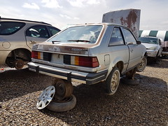 1981 Ford Escort - rear