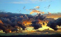 One Picture, Much In It (SteBow Photography) Tags: sunset coloradosunset colorado mountains coloradoweather clouds cloud mtevans canon canon80d eos