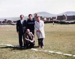Ani, mayıs 1984; Naci Bolay, Ahmet İnam, 