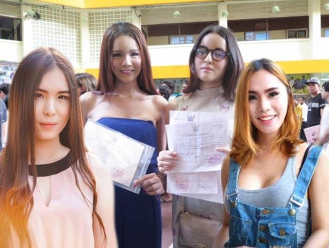 Vẻ đẹp khó cưỡng của những bóng hồng chuyển giới trong đợt tuyển nghĩa vụ quân sự Thái Lan - Ảnh 10.