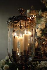 Las velas de la Virgen