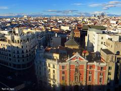 Alcalá 43 (trieste21) Tags: madrid españa spain iglesia church granvia via alcala ciudad cielo tejado barroco sanjose bancovizcaya teatroapolo calle circulobellasartes cba vistas panoramica