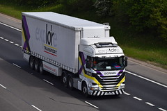 PO65 UVB (markkirk85) Tags: lorries lorry truck trucks a1 motorway a1m alconbury scania r450 explore transport po65 uvb po65uvb