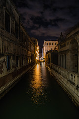 Towards the light (martintimmann) Tags: water night canal venice e longexposure availablelight loxia2821 zeiss