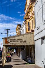Along Gilbert Street, Latrobe (lemien) Tags: latrobe tasmania australia au building town historic exterior verandah