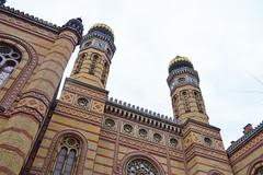 La synagogue de Budapest
