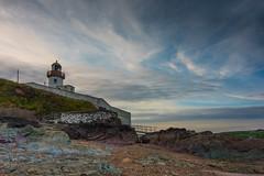 Youghal Lighthouse 5-05-2017 (John Holmes (DAJH51)) Tags: nikon1635 nikond750 youghal beach clouds cork ireland lighthouse mlongexposure railings rocks sand sky steps stones walls