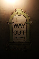 Way out - Disused 'Down street station' - London (sensaos) Tags: disused down street station downstreetstation abandoned forgotten derelict underground londonunderground sensaos travel 2017 britain