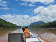 Traveling by boat