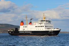 MV Argyle (Fraser Murdoch) Tags: calmac argyll bute mv argyle caledonian macbrayne ferry motor vessel boat ship wemyss bay rothesay transport fraser murdoch canon eos 650d clyde river doon watter water landscape