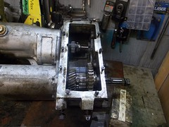 Reassembly time (37114) Tags: land rover series 3 lt76 gearbox rebuild