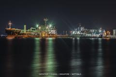 CAFHI PIER, SINGAPORE (matthmlo) Tags: nikon d700 nikkor 24120 f4 cafhi jetty pier oxalis peony maritime ship tanker vessel ocean sea boat oil singapore changi