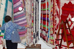 Rugs of the Alpujarras (topsyturvytribe) Tags: spain travel mysundayphoto alpujarras andalucia bubion capileira coarsley woven rugs crafts expat family exploring jarapa looms pampaniera photography rag rug rustic