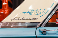 Fairlane 500 sedan (GmanViz) Tags: gmanviz color car automobile detail pistonpowershow nikon d7000 1964 ford fairlane 500 sedan roof cpillar chrome badge door handle pinstripes