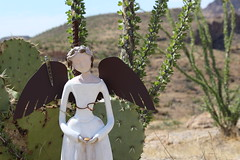 Angel (iks-photography) Tags: summer cactus angel wings sculpture statue arizona nature hike desert