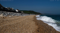 The deep blue sea (Ollie_57.. on/off) Tags: landscape seascape buildings houses rocks beach shingle surf sea water ocean waves wet blue hbm canon ef24105mm 7d spring may 2017 beesands westcountry devon england uk affinityphoto ollie57 saariysqualitypictures