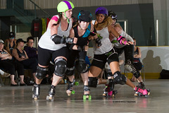 2016-06-04 Whitewood Block Party Game 4_001 (Mike Trottier) Tags: blockparty canada derby miketrottier miketrottierrollerderbyphotography rollerderby saskatchewan straightjackets whitewood redneckbetties swiftcurrent can