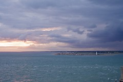 _DSF1431 (Martin P Perry) Tags: linstone linstonechine solent sea castle hurstcastle lighthouse milfordonsea coast waves