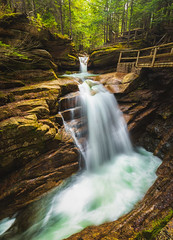 Sabbaday Falls (Robert Clifford) Tags: 5d canon markiii nh newengland newhampshire photowalk robcliffordphotography hike hiking longexposure robertcliffordcom spring tourism trail water waterfall whitemountainnationalforest waterfallwednesday