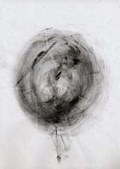 Sumi texture(墨テクスチャ) 02 (warimaru) Tags: japan japanese sumi black ink 墨 テクスチャー texture 日本 monochrome