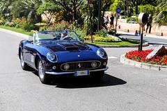 250 (Reece Garside   Photography) Tags: ferrari 250 250california california swb blupozzi classic supercar summer spotter sun street car canon canon6d 6d hypercar history rare blue monaco france topmarques