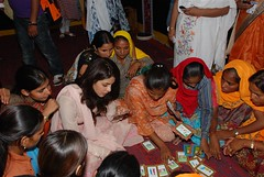 Priyanka Chopra, UNICEF Goodwill ambassador for the promotion of Child and Adolescent rights visited Anganwadi Centre in Nanakpura Village (Sanganer Project), district Jaipur on 1st September 2011. With the participation of central and state government Ra (unicefindia) Tags: adolescence celebrities communitycentre girl goodwillambassadors grouppeople india women