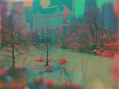 Let me show you the world in my eyes (BLACK EYED SUZY) Tags: city afterlight tadaa mextures trees lake colors nyc surreal centralpark