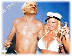 BAYWATCH (edoardo.baraldi) Tags: assange pamelaanderson wikileaks