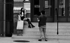 Model Instructions (burnt dirt) Tags: houston texas downtown city town mainstreet street sidewalk corner crosswalk streetphotography fujifilm xt1 bw blackandwhite girl man woman people person couple pair group crowd walking talking standing looking boots heels stilettos sandals model photographer camera lens dress skirt shorts glasses sunglasses purse bag phone cellphone pose longhair shorthair ponytail kneehigh blonde brunette headphones cap hat asian friends bike bicycle prom lovers