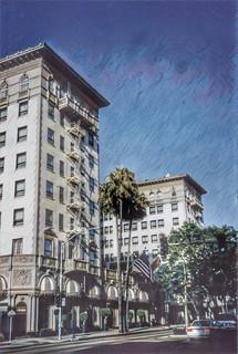 Beverly Wilshire Hotel ~ Beverley Hills ~ California