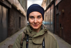 Alessia (Charles Hamilton Photography) Tags: glasgow streetportrait glasgowstreetphotography peopleinthecity people stranger backstreet lane naturallight primelens nikond750 50mm trongate characterstudy colourstreetportrait citycentre colours glasgowstreetportrait charleshamilton