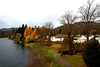Down by the riverside: Dunkeld, Perthshire, Scotland. (ronmcbride66) Tags: tay rivertay dunkeld perthshire scotland autumn trees landscape beech conifers gardens autumncolour coth absolutelystunninglandscapes coth5