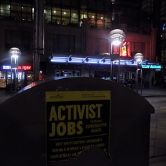 DSCN0539 (karinafrandjian) Tags: activism womens womans woman female rights abortion planned parenthood denver colorado downtown night jobs flier abstract photography sunset beach water sky grey black red green flower nature blue