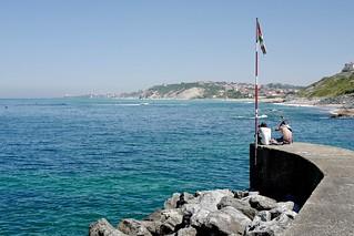 Le port de Guéthary