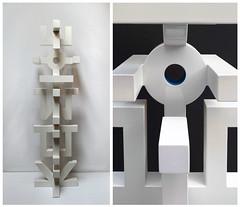 L´EST HAUT LEVANT. Metal sculpture. 225cm. 2016