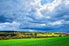 "Kashubian fields (Piotr Tylski) Tags: fujifilmxe1"" fuji poland polska wejherowo landscape vacations nature art europe travel macphun luminar spring clouds colors hdr fujinon lights constrast"
