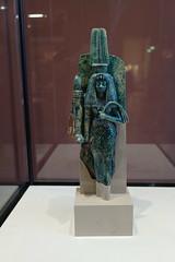 Statue of Queen Tiye (radiowood) Tags: egypt paris louvre ankhtenaten amenhotep greatroyalwife queen tiye