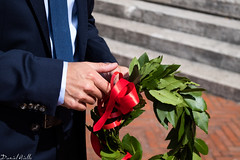 Graduation (DanAie) Tags: graduation color colour symbol hands red crown composition italia laurea italy photography pentax composizione pisa engineering detail style class stile tie