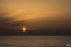 Sol (JaviJ.com) Tags: yellow landscape sea sunset water sun clouds ocean mar el oceano amarillo atlantic agua luz paisaje sol nubes costa cadiz la de atlantico puesta atarceder palmar vejer javij